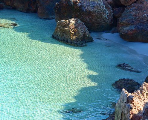 Im Norden von Ibiza